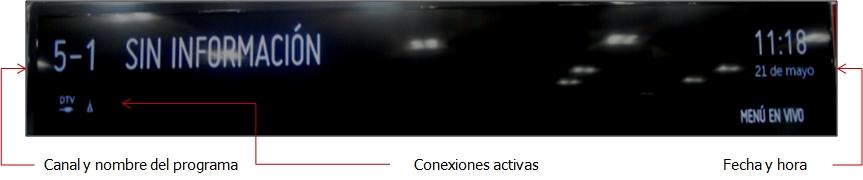 Como revisar la información del programa en tu TV LG Smart