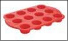 Utensilios para microondas; molde para muffins