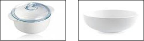 Algunos recipientes de cerámica tienen un esmalte que se calienta si lo colocas en el microondas.