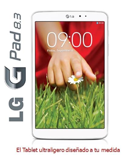 Tablet Android, pantalla grande IPS Full HD de 8.3 procesador ultra rápido, Wifi y con cámaras frontal y trasera