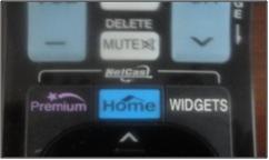 Desde el control remoto de tu tv selecciona la tecla HOME; con las flechas podrás moverte arriba, abajo o a un lado