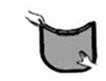 1.- Con los dedos, puede retirar la pelusa del filtro.