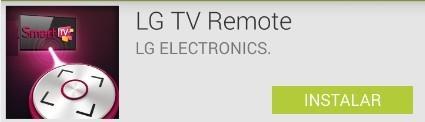 Aplicativo tv remote