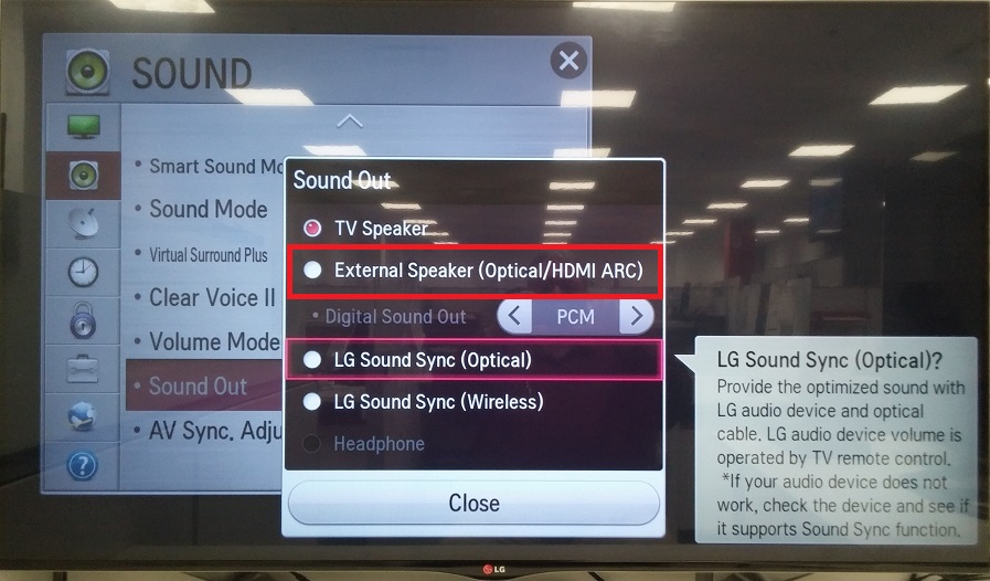 Lg tv hdmi 2 arc no signal
