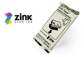 Papel fotográfico Zink -Zero Ink.