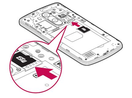 Al finalizar sólo retire la microSD como se menciona en la imagen del manual.