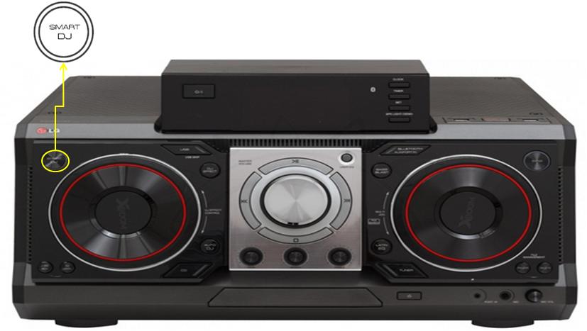 Reproducción SMART DJ, audio CM9730