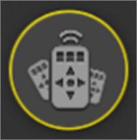 icone de controles remotos adicionados