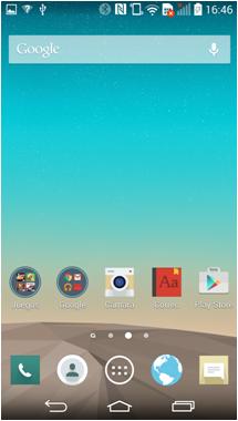 El ícono cambiará sólo en la pantalla principal, en el listado de las aplicaciones continuará el ícono original.