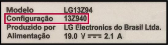 Etiqueta do produto