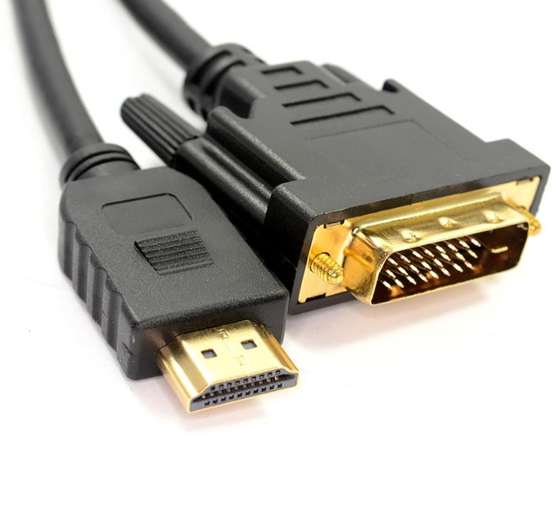 Ejemplo del cable DVI