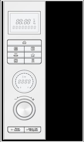 Painel dos modelos MJ3281BP / MJ3281BPA / MP3284BP / MP3284BPA