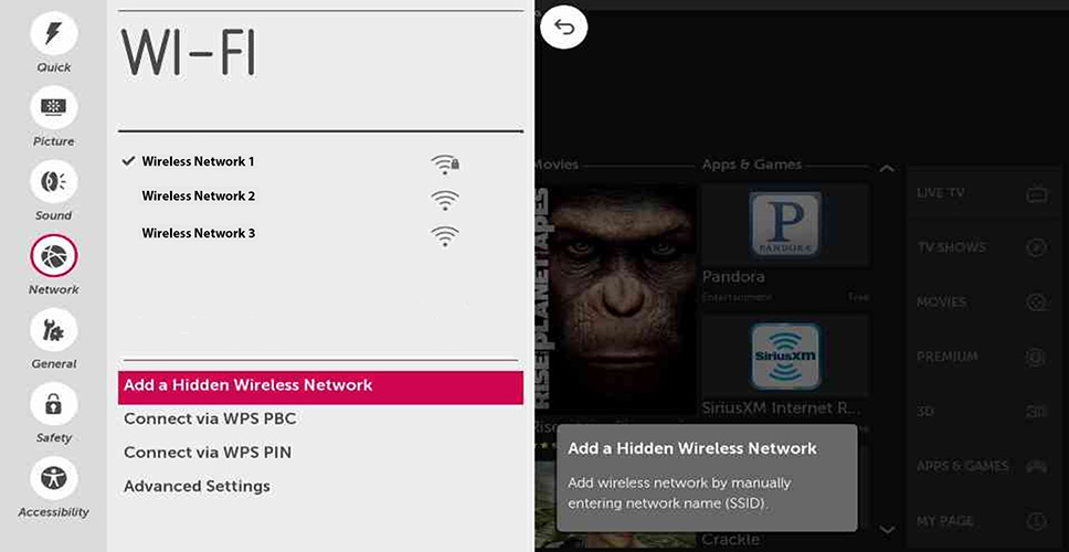 Lg Help Library Setting Up Your Wireless Network Webos 10 Lg Usa