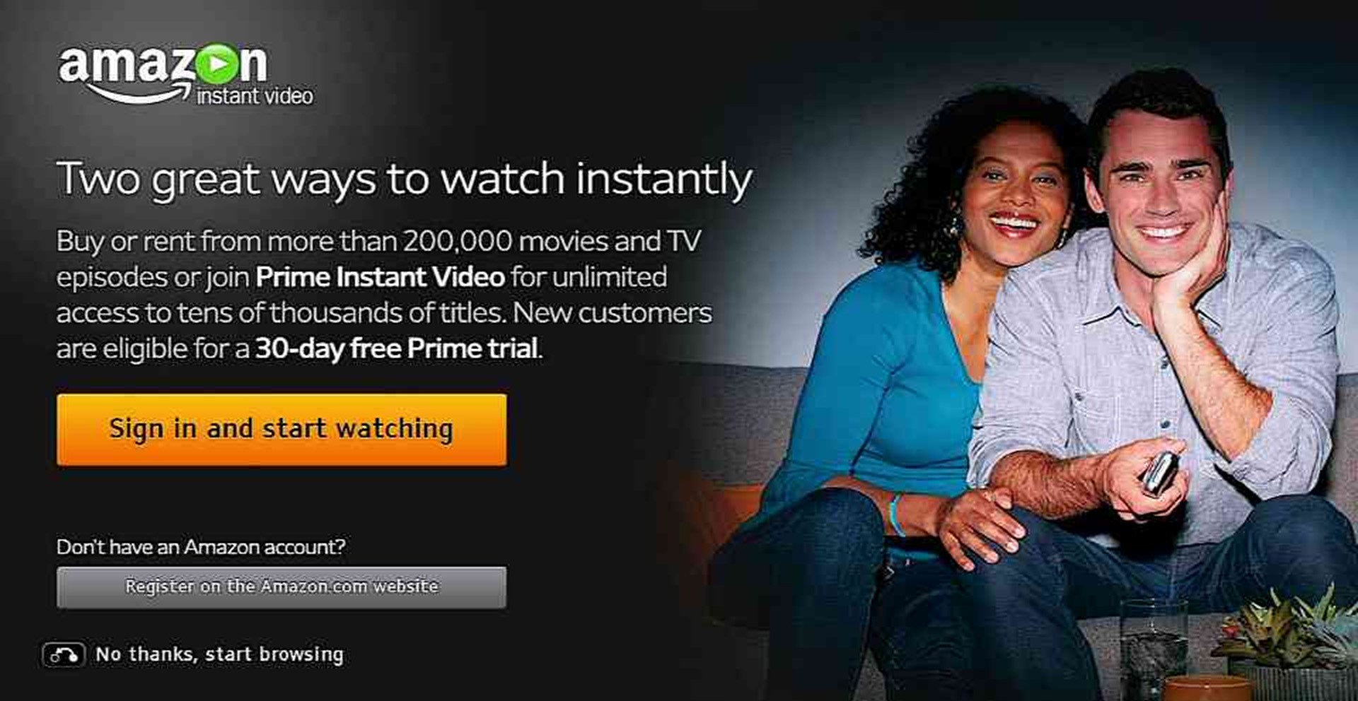 download prime video on tv