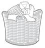 cesto de roupa