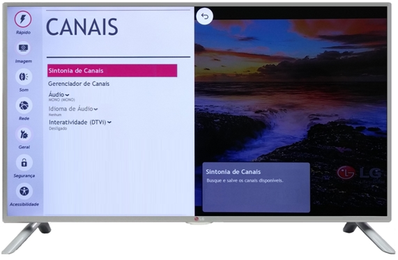 menu canal