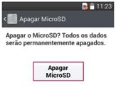 Apagar Micro Sd