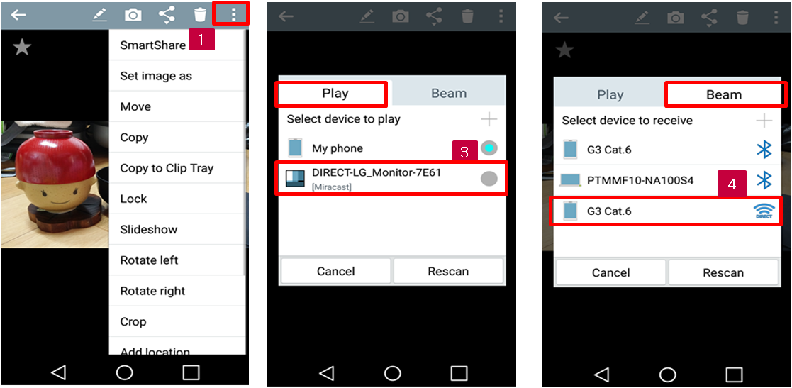 how to setup smartshare