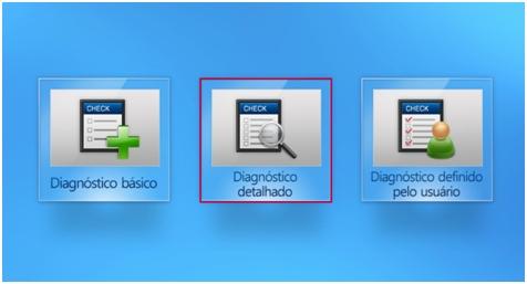 Diagnóstico detalhado