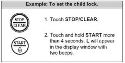 If Your Model S Stop Clear On Does Not Have A Lock Indicator It Please Refer To Owner Manual See Unit Has Child