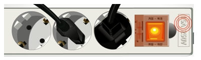 Use a grounded outlet with an amperage rating higher than 15A .