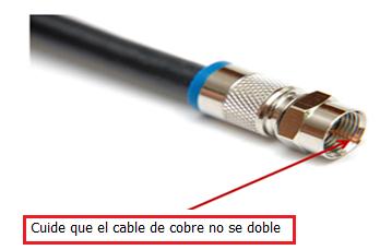 Conexión coaxial
