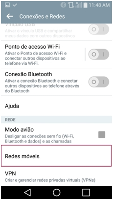 Redes móveis