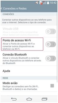 Ponto de acesso Wi-Fi