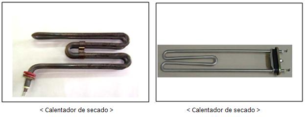 Para ciclos de altas temperaturas normalmente por encima de 60 grados, las lavadoras de carga frontal utilizan un calentador. Por lo tanto, el exterior se calienta a medida que aumenta la temperatura interna.