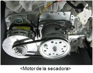 Motor de la secadora