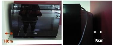 imagem de micro-ondas em armário fechado