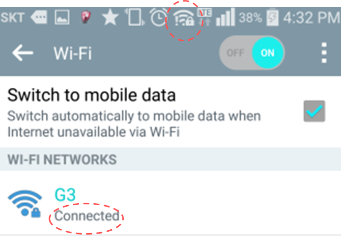 How to connect to the Hotspot