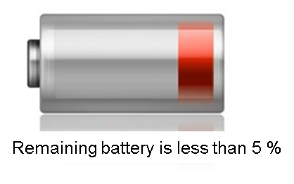 battery remaining