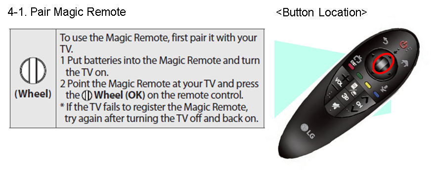 Pair Magic Remote