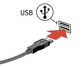 conecte USB