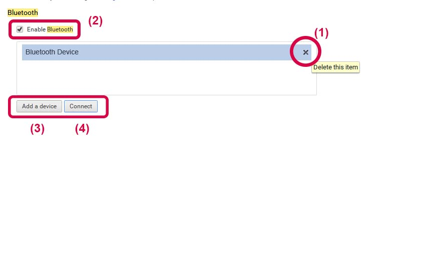 Bluetooth Settings - Chromebase | LG USA Support