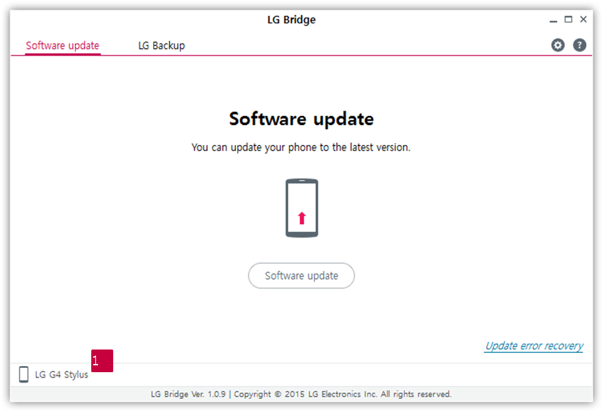 LG How-to & Tips: [LG Bridge] How can I connect my mobile
