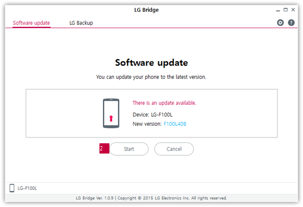 LG How-to & Tips: [LG Bridge] How Can I Update Software of