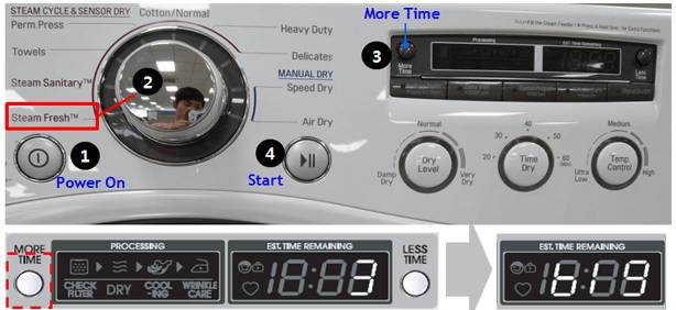 Error Codes - Laundry Dryer | LG USA Support