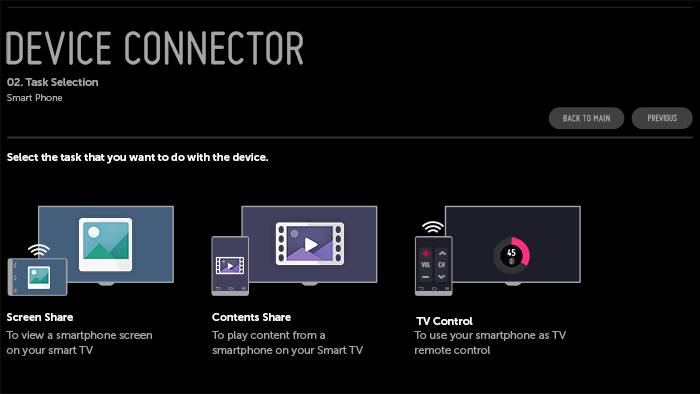 Device connector