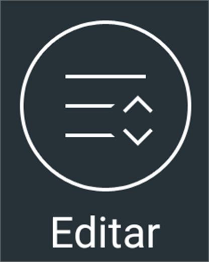 Editar barra de notificação