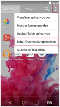 Editar aplicativos