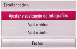 Ajustar visualização de fotografias