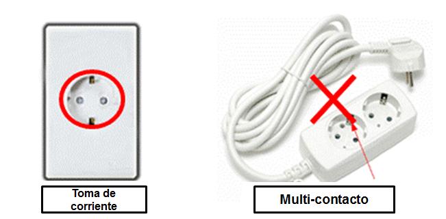 Toma corriente/Multi-contacto