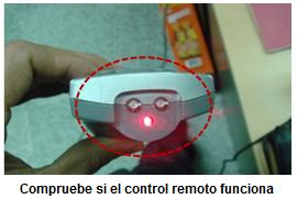 Prueba de control remoto