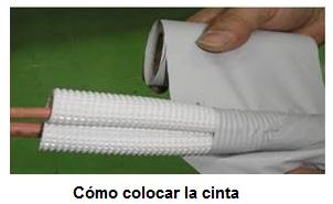 Como colocar la cinta