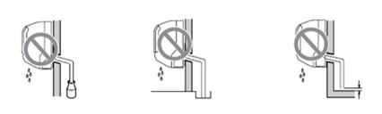 Instalación de manguera de drenado