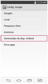 Gerenciador de disp. Android