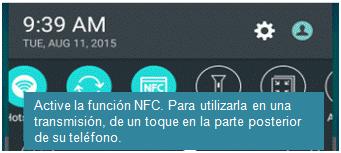 Función NFC
